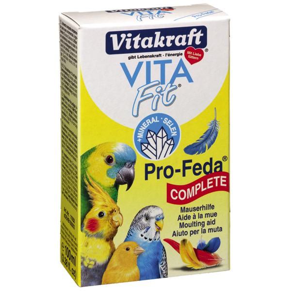 Vitakraft VITA Fit Pro-Feda Mauserhilfe 100ml