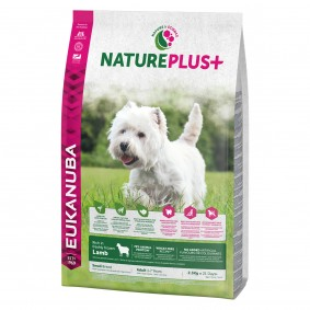 Eukanuba NaturePlus+ Adult Small Breed Lamm