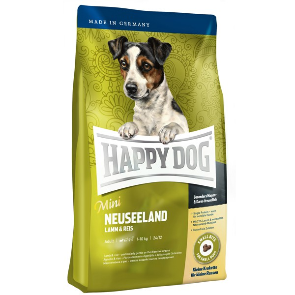 Happy Dog Hundefutter Mini Neuseeland