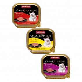 Animonda Vom Feinsten Kitten Mixpaket 24x100g