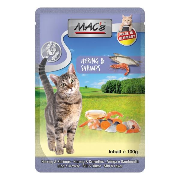MAC's Cat Katzenfutter Hering und Shrimps 100g