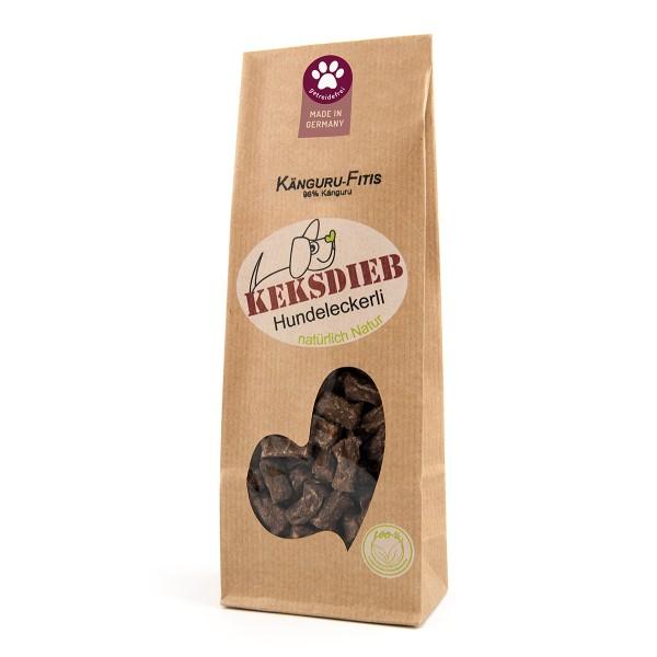 Keksdieb getreidefreie Hundesnacks Känguru-Fitis