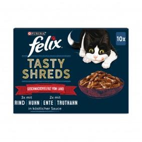 FELIX Tasty Shreds Geschmacksvielfalt vom Land