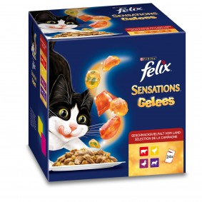 FELIX Sensations Fleisch Mix Multipack 24x100g