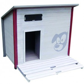 Karlie-Flamingo Hundehütte Crayon