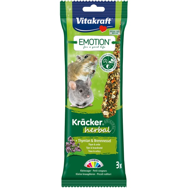 Vitakraft Emotion Kräcker Herbal Kleinnager 2 Stück