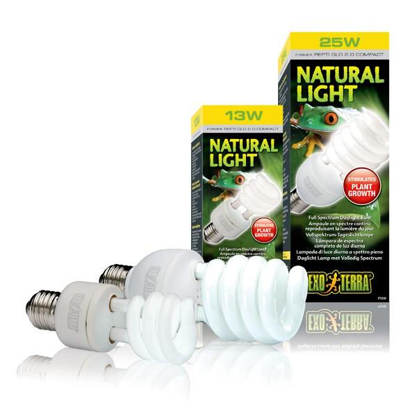 Exo Terra Natural Light Vollspektrum-Tageslichtlampe
