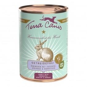 Terra Canis getreidefrei Kaninchen mit Zucchini, Aprikose und Borretsch