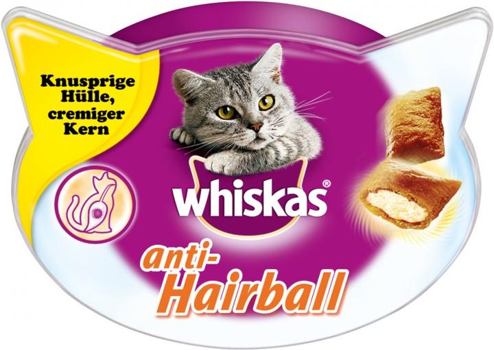Whiskas Anti-Hairball 60g