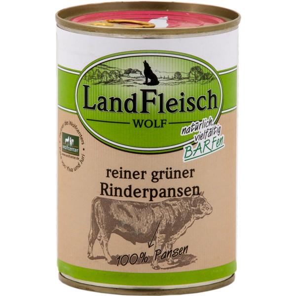 Haustier: Landfleisch Pur Landfleisch Hundefutter Dog Wolf 24x400g verschiedene Sorten Rind