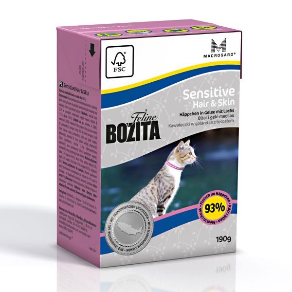 Bozita Feline Funktion Sensitive Hair & Skin 16x190g