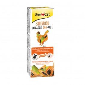 GimCat Superfood Skin&Coat DuoPaste mit Hühnchen & Papaya