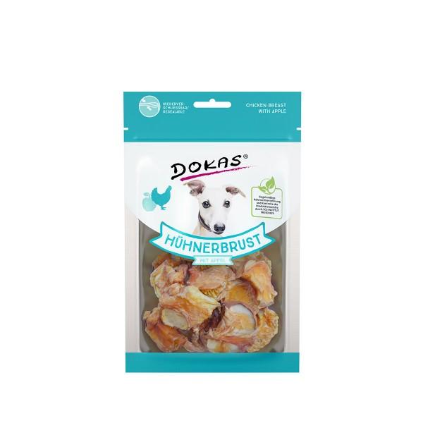 Dokas Hundesnack Hühnerbrust mit Apfel 70g