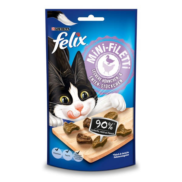 Felix Mini-Filetti Huhn & Ente