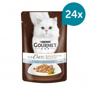 Gourmet A la Carte Hochseefisch an Reis-Gemüsekomposition