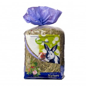 Hugro Kleintier-Heu Premium Pfefferminz Hagebutte 500g