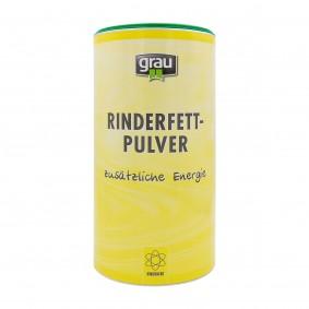 Grau Rinderfett-Pulver