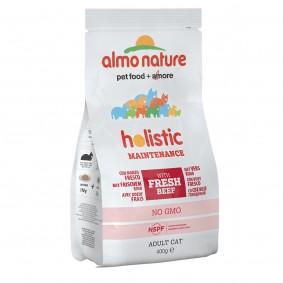 Almo Nature Holistic dry Cat mit Rind und Reis