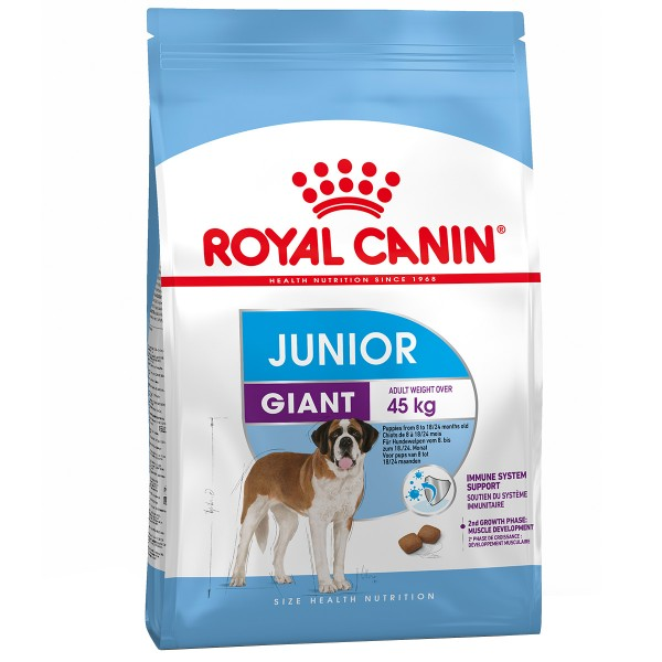 Royal Canin Hundefutter Giant Junior