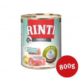 Rinti Hunde-Nassfutter Sensible Pute und Kartoffeln 800g