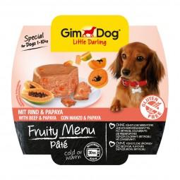 GimDog Little Darling Pâté Rind und Papaya