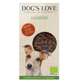Dog's Love Goodies Bio-Rind 150g