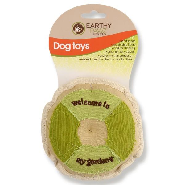 Earthy Pawz Holz Hundespielzeug Kaukissen Φ14.5cm