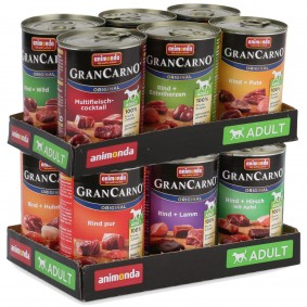 Animonda GranCarno Mixpaket 12x400g