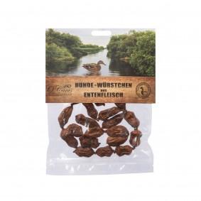 O´Canis Premium Hunde-Würstchen 100% Entenfleisch