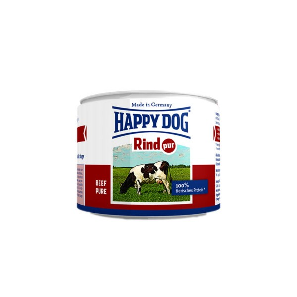 happy dog rind pur 12x200g g nstig kaufen bei zooroyal. Black Bedroom Furniture Sets. Home Design Ideas