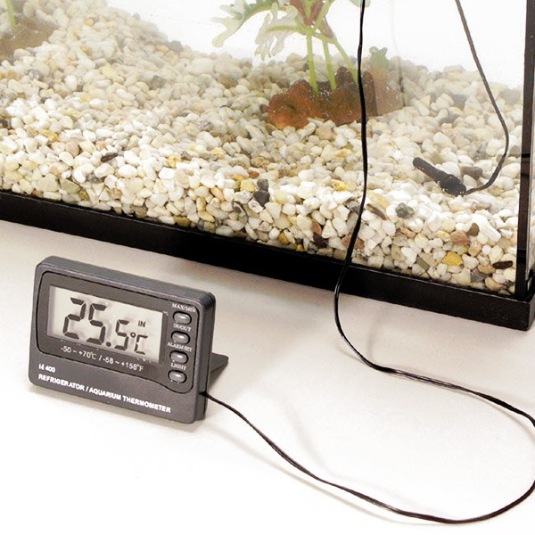 Digitales Aquariumthermometer mit Alarm