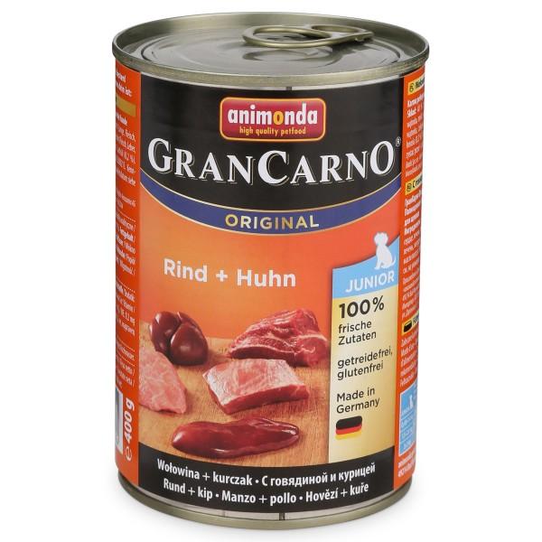 Animonda Hundefutter Gran Carno Junior Rind und...
