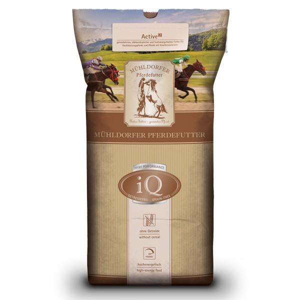 Mühldorfer Pferdefutter iQ Active2 getreidefrei 20kg