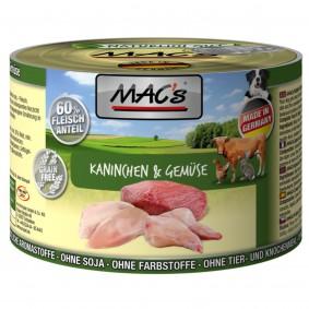 MAC´s Dog Kaninchen & Gemüse