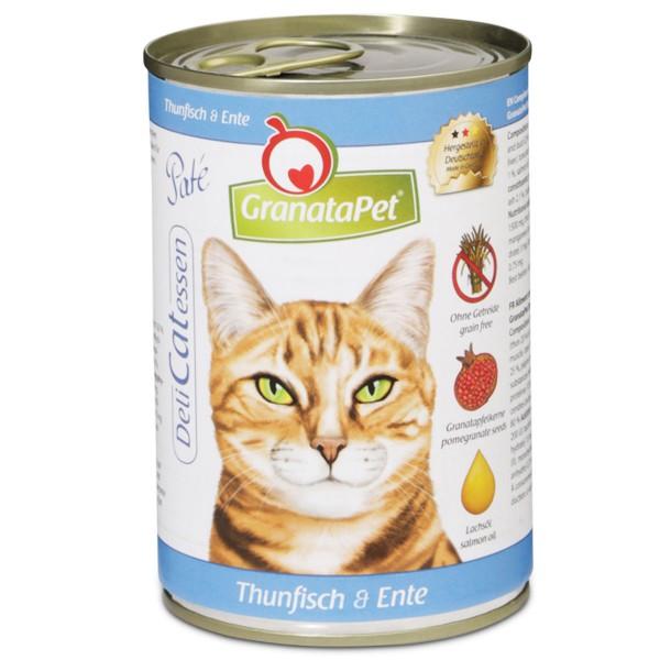 GranataPet DeliCatessen Thunfisch + Ente 400g -...