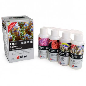 Red Sea Coral Colors Starter Kit A,B,C & D 4 x 100ml