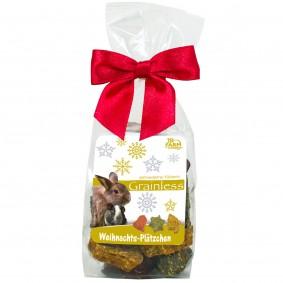 JR Farm Grainless Weihnachtsplätzchen Tüte 75g