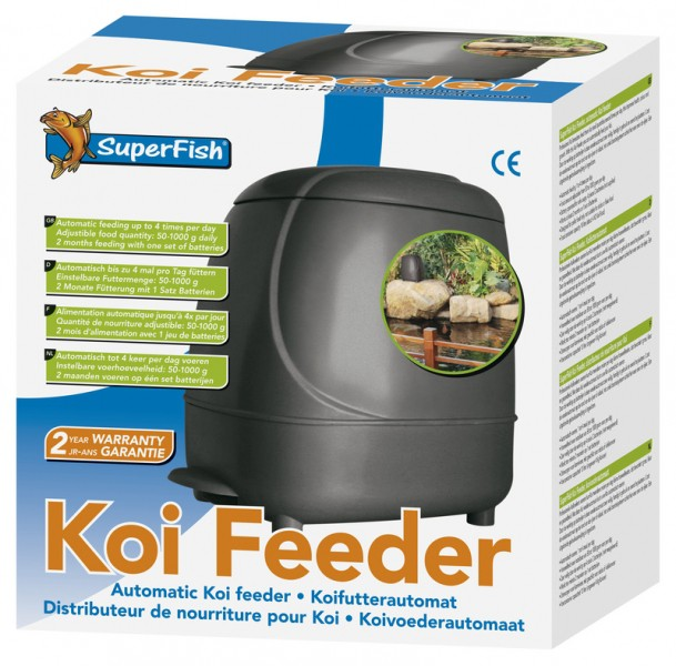 Koi Feeder Teich Futter Automat von SuperFish