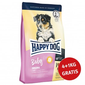 Happy Dog Supreme Young Baby Original 4kg + 1kg GRATIS