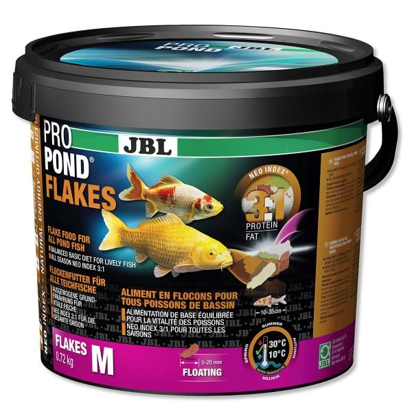 JBL ProPond Flakes Flockenfutter für Teichfische 130g
