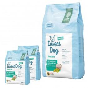 Green Petfood InsectDog sensitive 10kg + 2x900g gratis