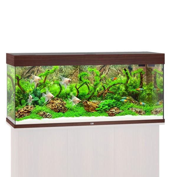 Rio 240 Aquarium ohne Schrank - Dunkelbraun