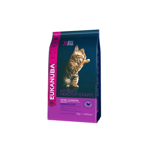 Eukanuba Katzenfutter Healthy Start Kitten Huhn