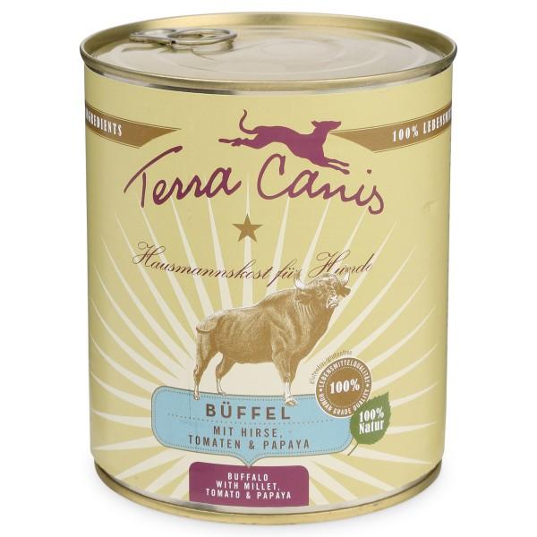 Terra Canis Büffel mit Hirse, Tomaten und Papaya