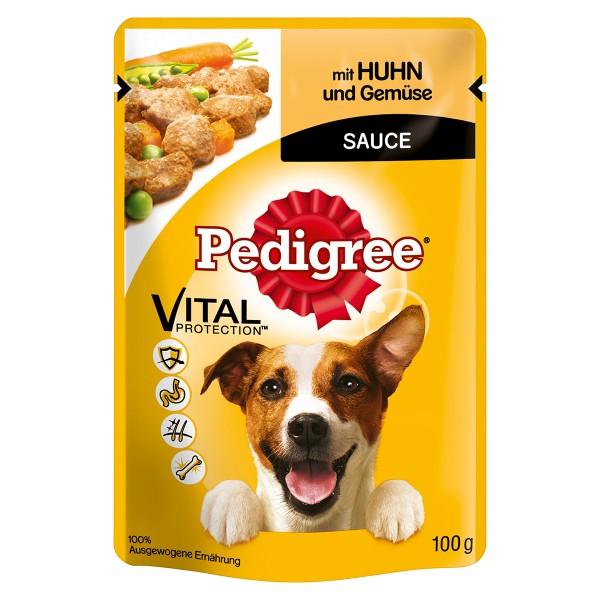Pedigree Adult mit Huhn und Gemüse in Sauce