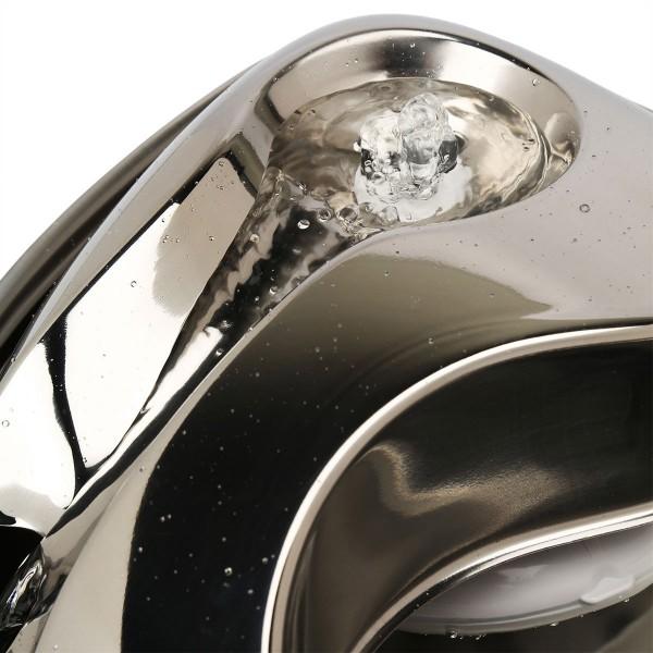 Pioneer Pet Edelstahl Trinkbrunnen Rain Drop Style 1,8 l