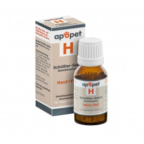 apopet Schüßler Salz Kombination H (Haut und Fell)