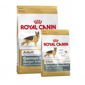 Royal Canin German Shepherd Adult  12kg+3kg Gratis!
