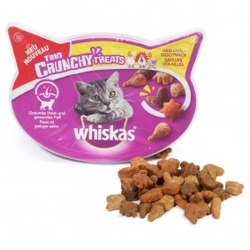 Whiskas Katzensnack Trio Crunchy mit Geflügel