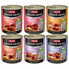 Animonda GranCarno Sensitiv Adult Mixpaket